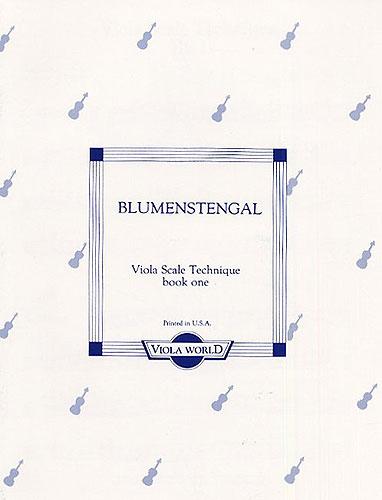 A. Blumenstengal: Viola Scale Technique - Book One: Viola: Instrumental Tutor