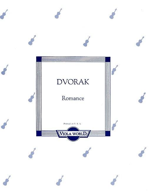 Antonín Dvořák: Romance Op.11 (Viola): Viola: Instrumental Work
