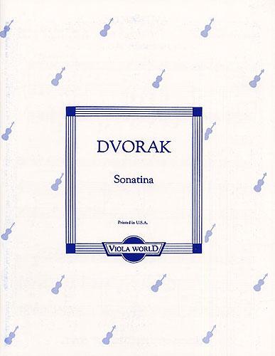 Antonín Dvořák: Sonatina Op.100: Viola: Instrumental Work