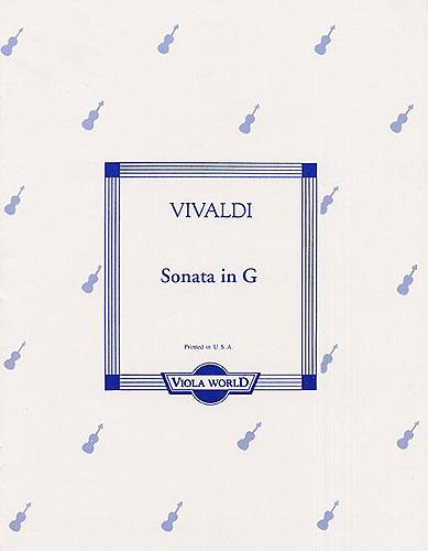 Antonio Vivaldi: Sonata In G: Viola: Instrumental Album
