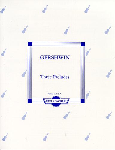 3 Preludes - Viola Alto