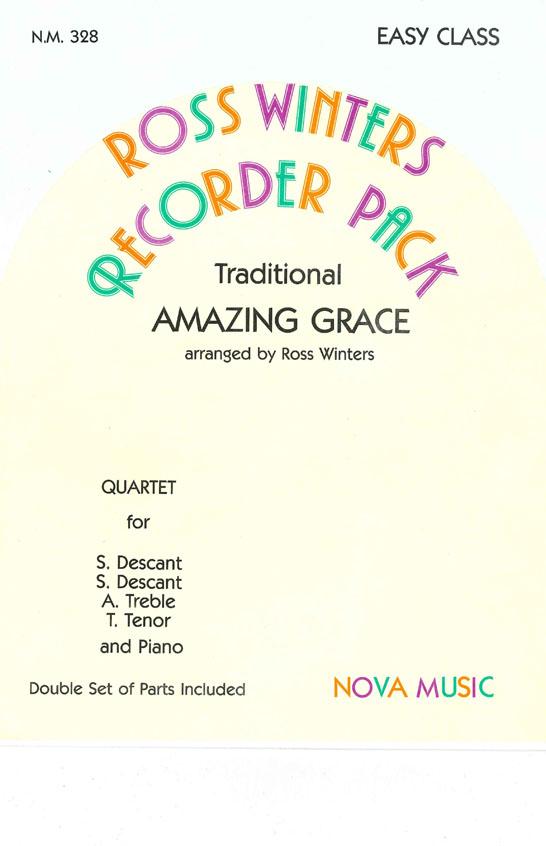 Amazing Grace: Recorder Ensemble: Instrumental Album