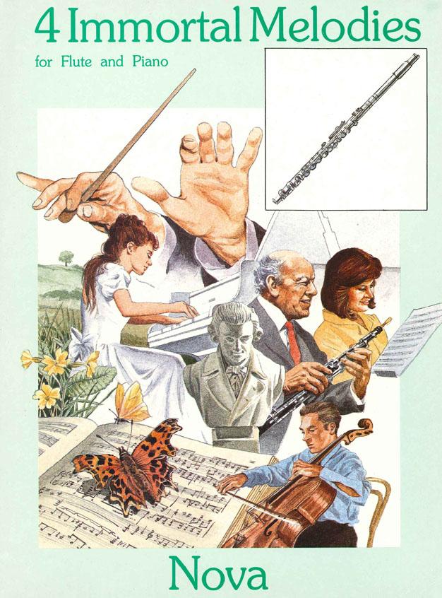 4 Immortal Melodies: Flute: Instrumental Album