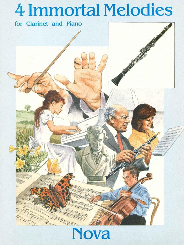 4 Immortal Melodies: Clarinet: Instrumental Album