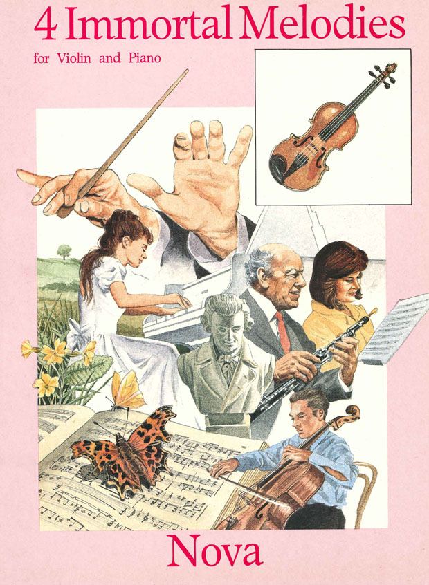 4 Immortal Melodies: Violin: Instrumental Album