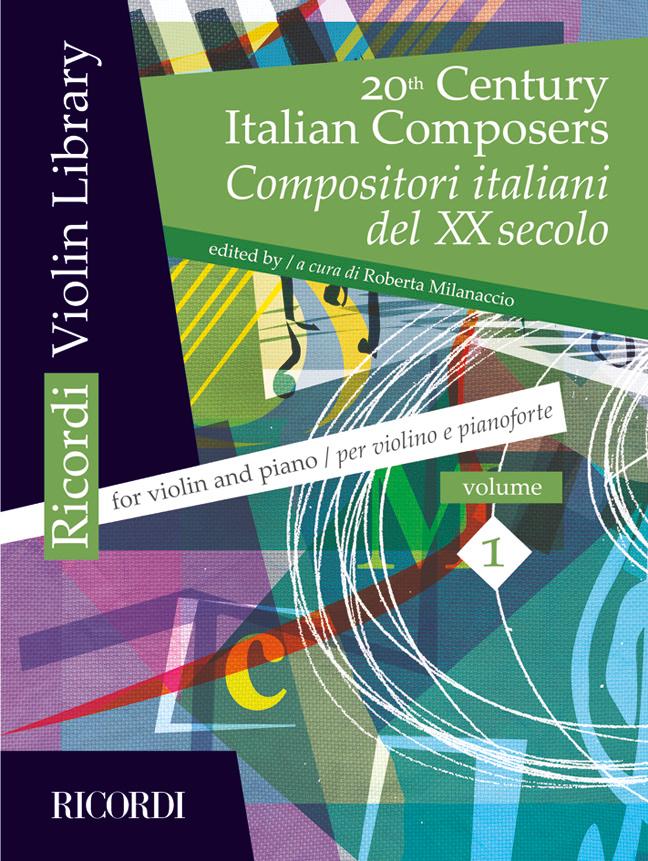 20th Century Italian Composers: Anthology 1: Violin: Instrumental Album