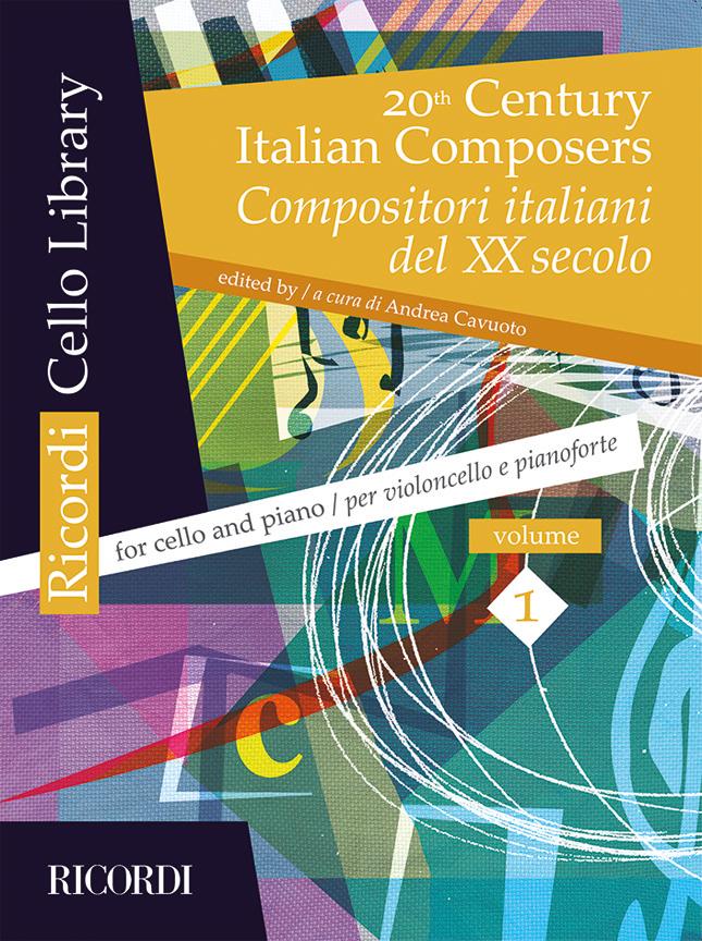20th Century Italian Composers Vol. 1: Cello