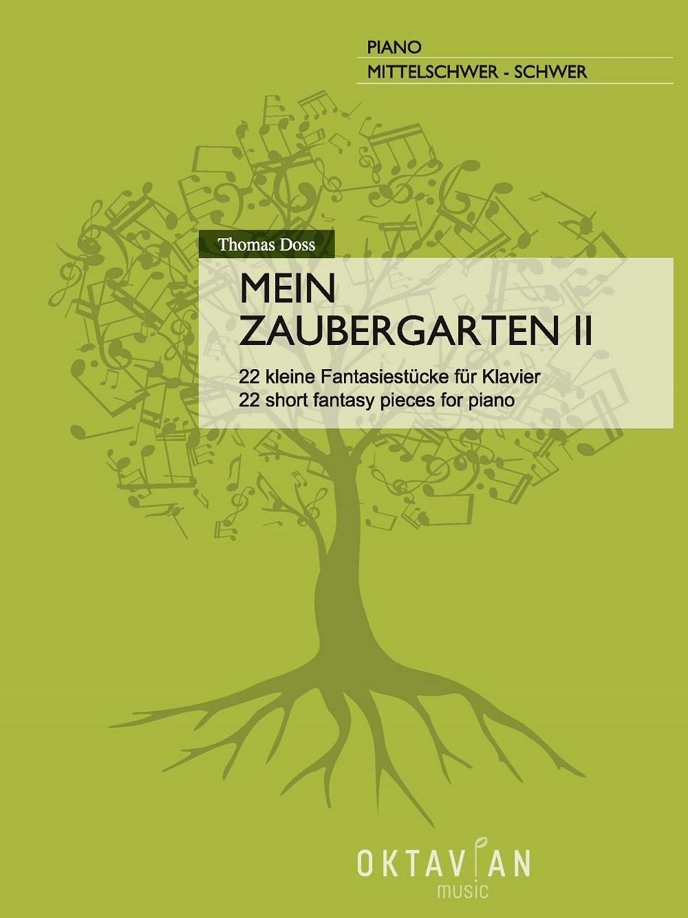 Thomas Doss: Mein Zaubergarten II: Piano Solo: Instrumental Album