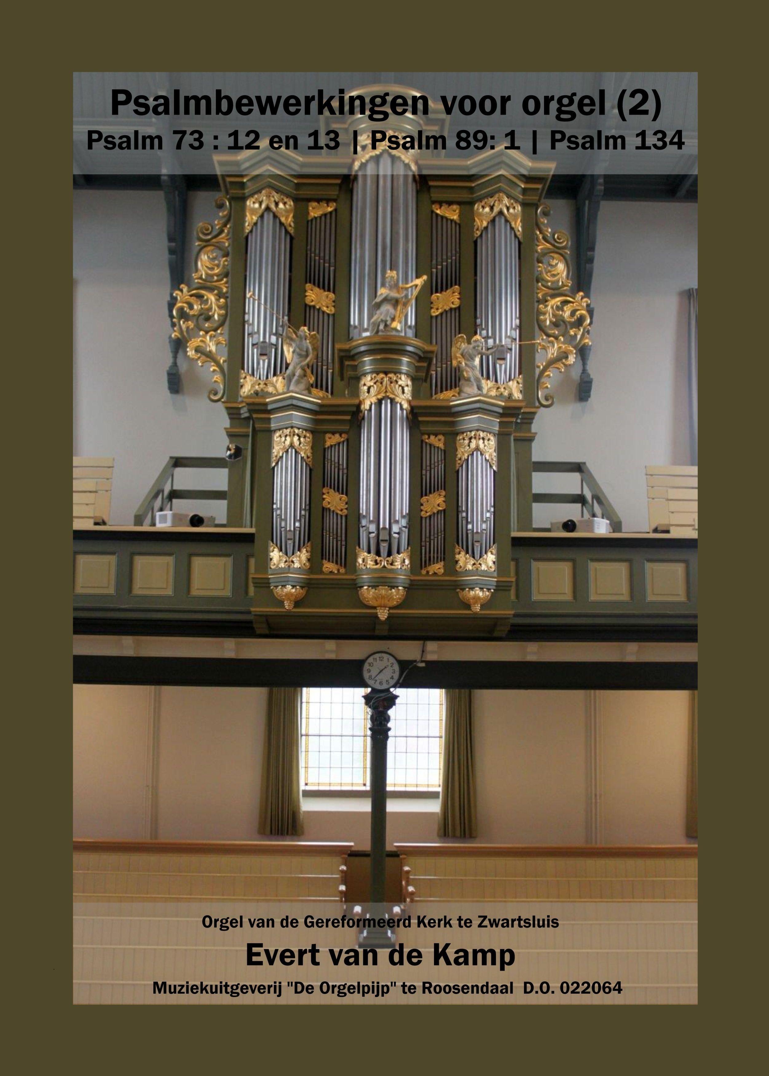Evert van de Kamp: Psalmbewerkingen Voor Orgel - 2: Organ: Instrumental Album