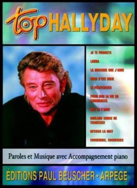 Johnny Hallyday: Top Hallyday: Piano Vocal Guitar: Vocal Album