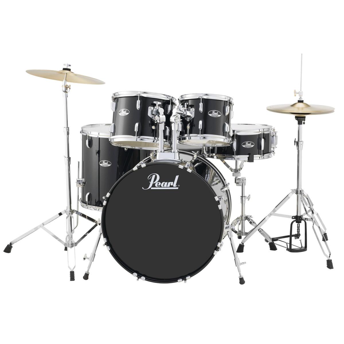 Roadshow Drum Kit Black 18