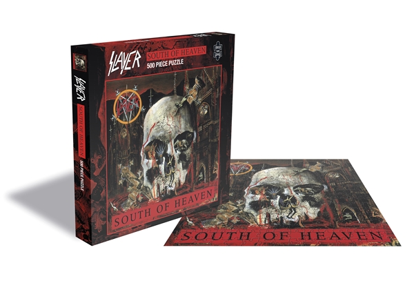 Slayer South Of Heaven 500 Piece Jigsaw Puzzle: Game