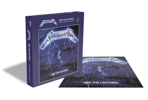 Metallica Ride The Lightning 500 Piece Jigsaw: Game