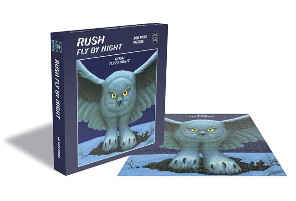 Rush Fly By Night 500 Piece Jigsaw Puzzle: Game