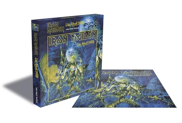 Iron Maiden Live After Death 500 Piece Jigsaw: Game