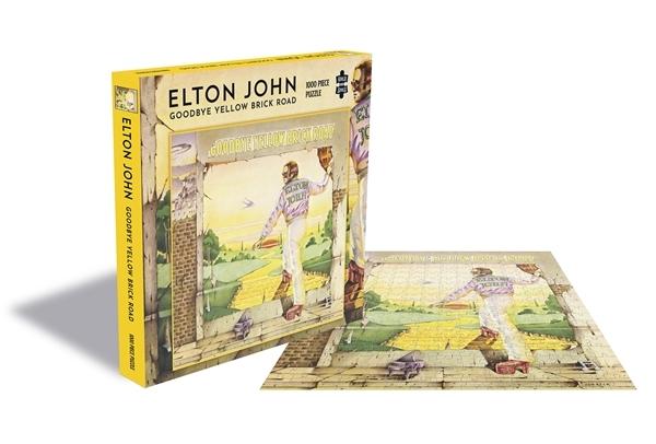Elton John Goodbye Yellow Brick 1000 Piece Jigsaw: Game