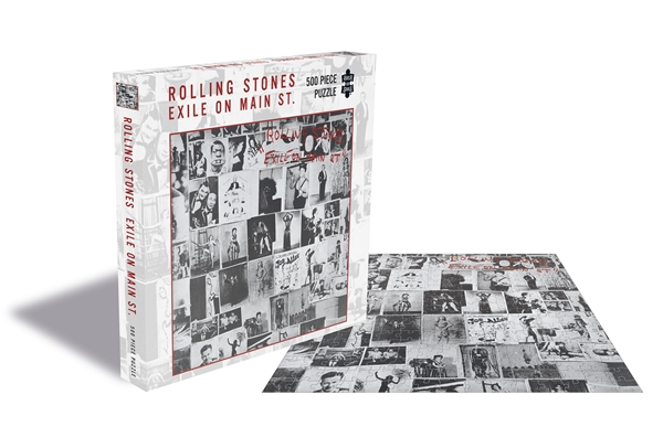 Rolling Stones Exile On Main St. 500 Piece Jigsaw: Game