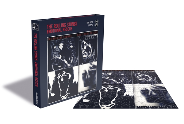 Rolling Stones Emotional Rescue 500 Piece Jigsaw: Game