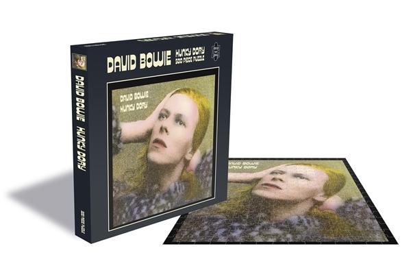 David Bowie Hunky Dory 500 Piece Jigsaw Puzzle: Game
