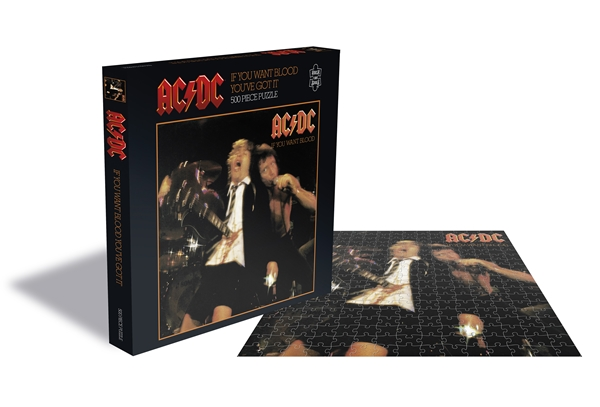 AC/DC If You Want Blood 500 Piece Jigsaw Puzzle: Game