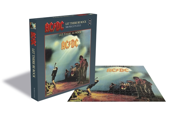 AC/DC Let There Be Rock 500 Piece Jigsaw Puzzle: Game