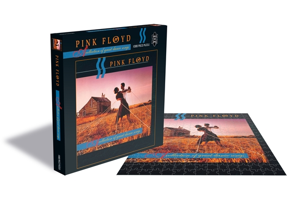 Pink Floyd A Collection Of 1000 Piece Jigsaw: Game