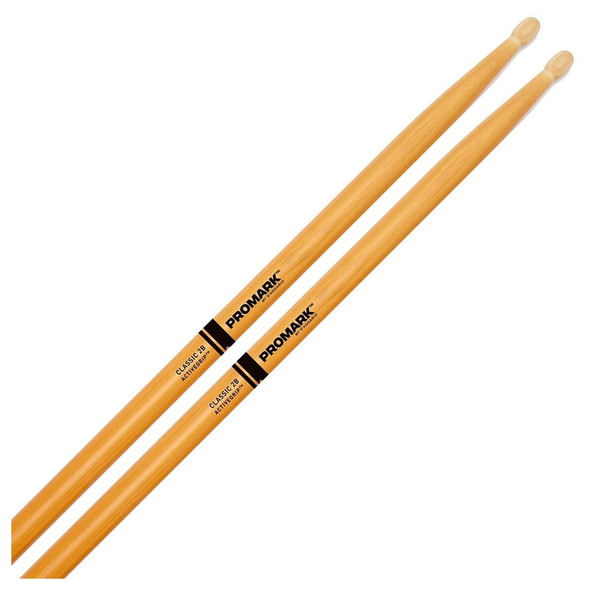 Classic 2B Active Grip Clear: Drumsticks