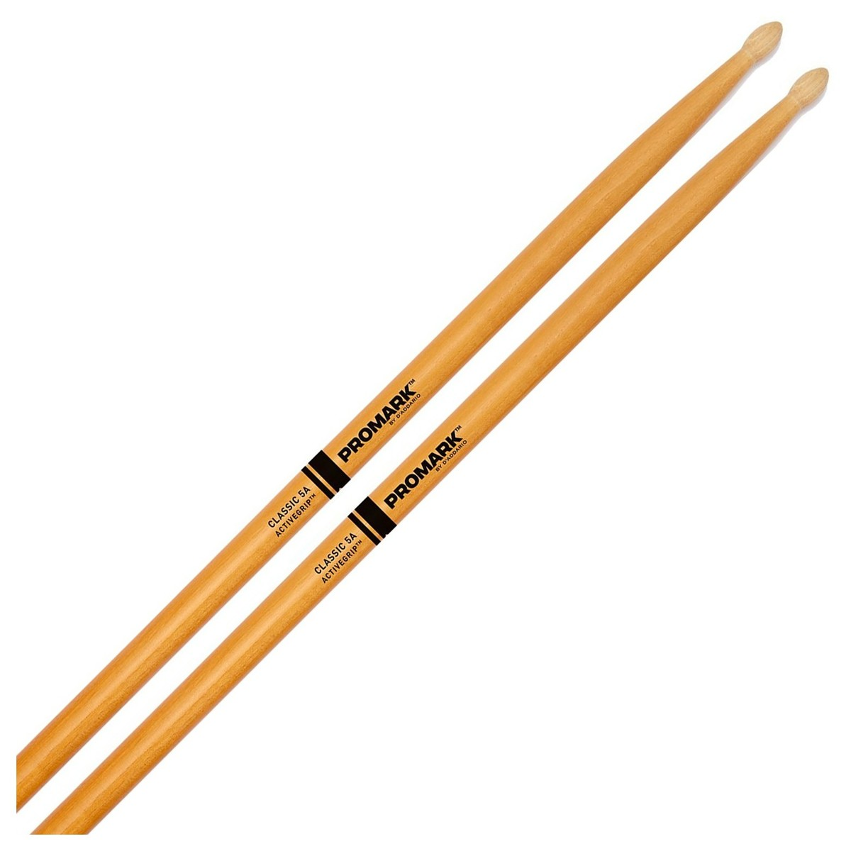 Classic 5A Active Grip Clear: Drumsticks