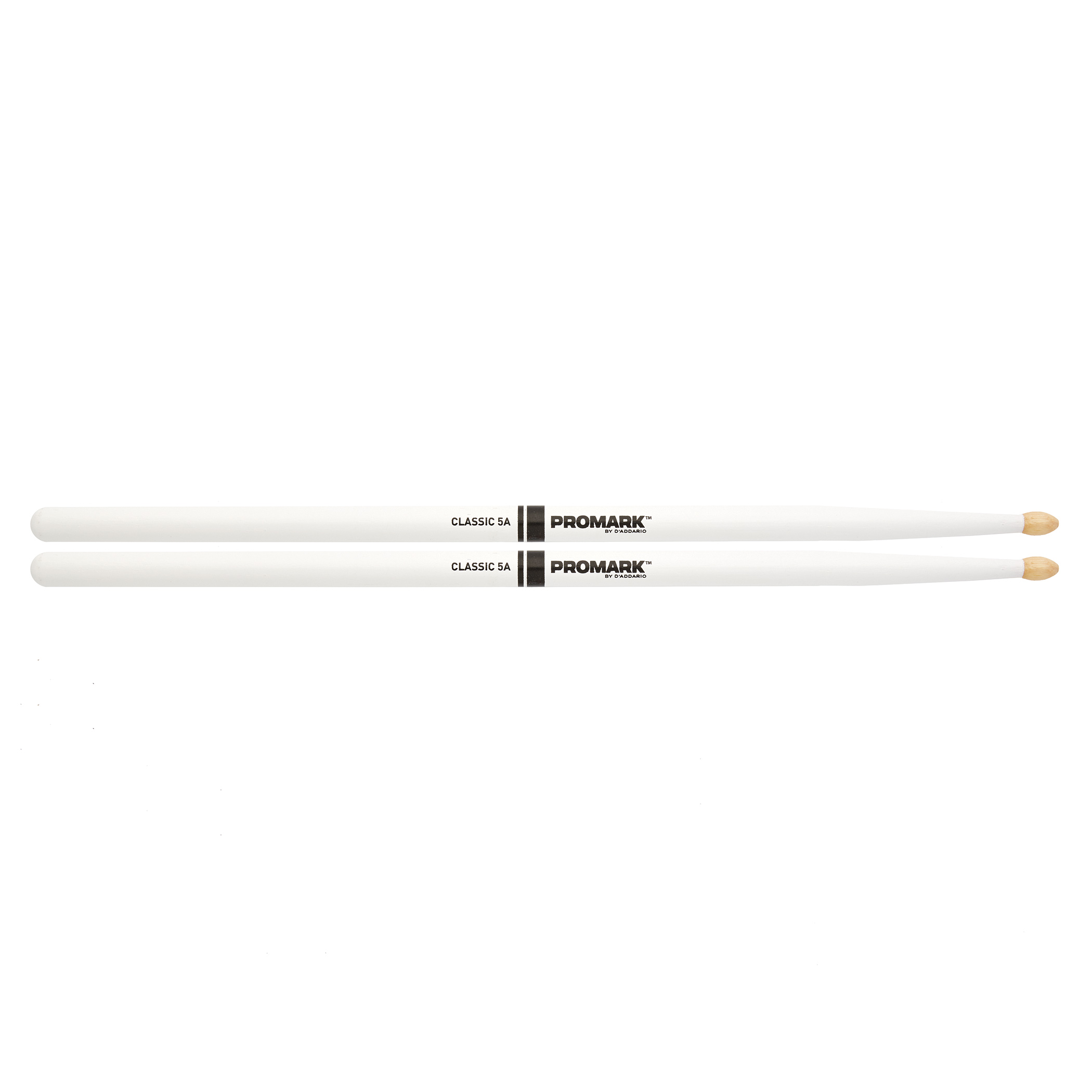 Classic 5A White Drumsticks 1 Pair: Drumsticks