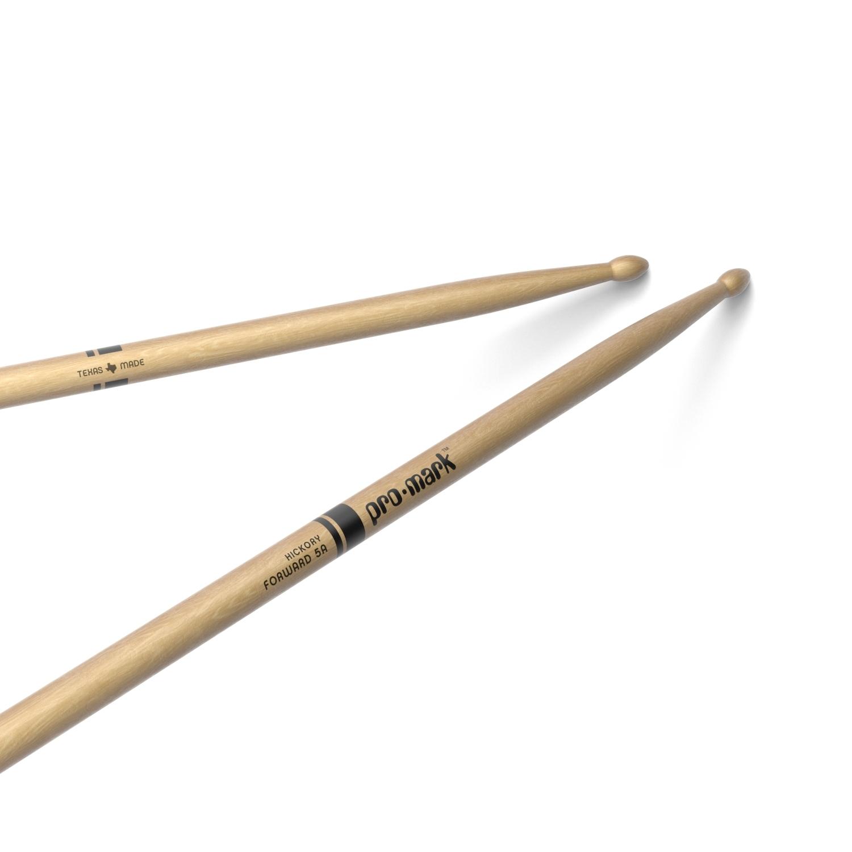 5A Wood Tipped Hickory Drumsticks: Drumsticks