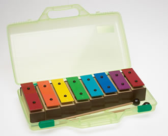 Chime Bar Set In Carry Case: Percussion