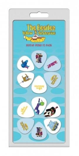 12 Pack The Beatles Yellow Submarine Picks: Plectrum