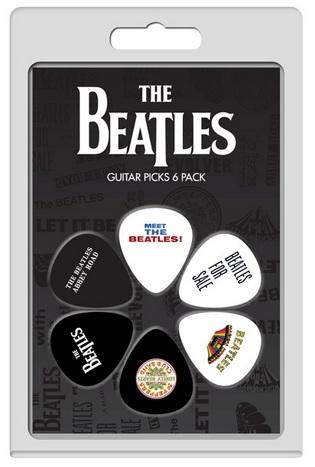 6 Pack The Beatles Albums No 1 Picks: Plectrum