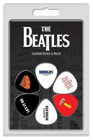 6 Pack The Beatles Albums No 2 Picks: Plectrum