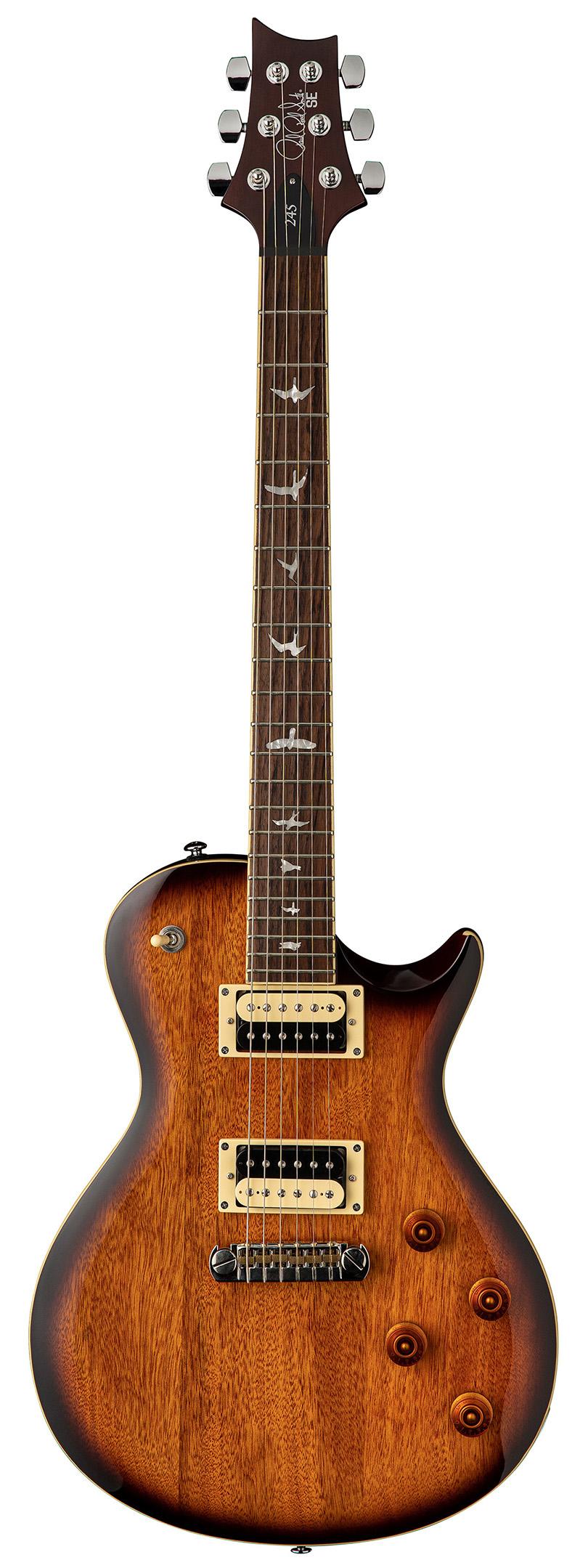 SE 245 Standard Tobacco Sunburst Guitar With Bag: Electric Guitar