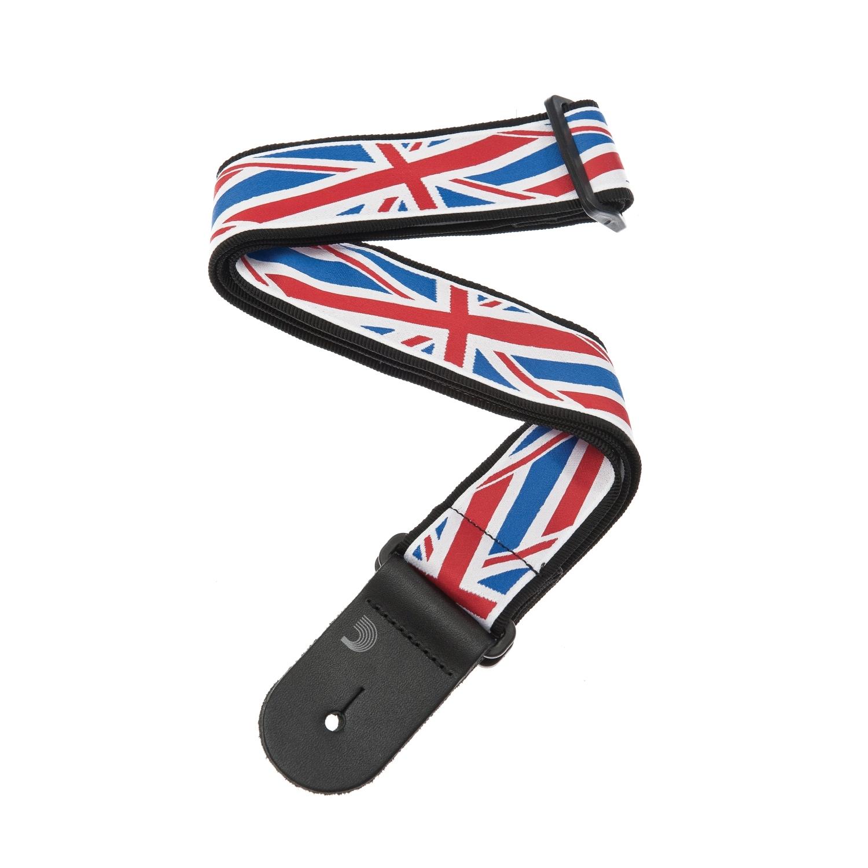 50mm Guitar Strap Union Jack: Strap