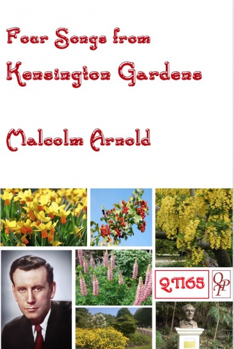 Malcolm Arnold: Four Songs from Kensington Gardens: Vocal: Vocal Score
