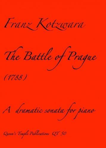 Franz Kotzwara: Battle Of Prague The: Piano: Instrumental Album