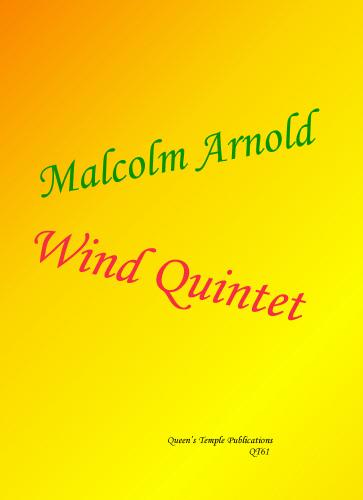 Malcolm Arnold: Wind Quintet: Wind Ensemble: Instrumental Album