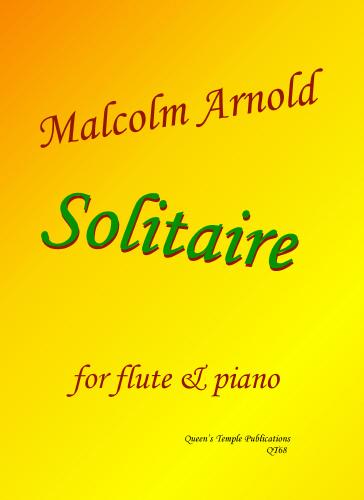 M Arnold: Solitaire: Flute: Instrumental Work
