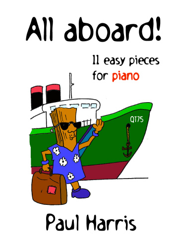 Paul Harris: All Aboard: Piano: Instrumental Album