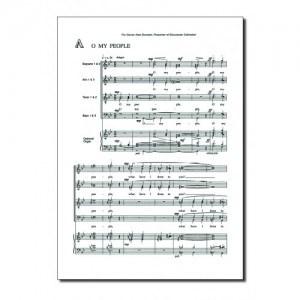 John Sanders: The Reproaches: Double Choir: Vocal Score