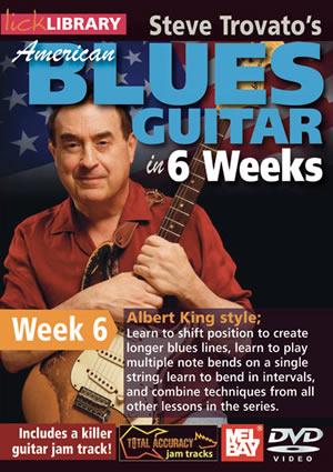 Albert King: American Blues In 6 Weeks - Week 6: Guitar: Instrumental Tutor