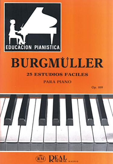 25 Estudios Fáciles para Piano Op.100: Piano: Instrumental Tutor