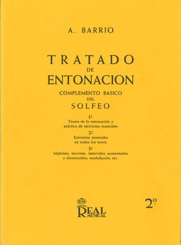Adelino Barrio: Tratado de Entonación 2°: Theory