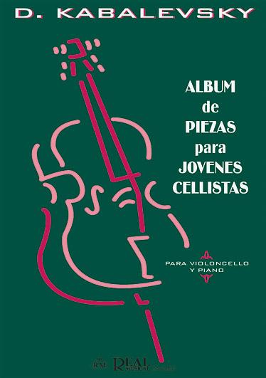 Album de Piezas para Jóvenes Cellistas: Cello: Instrumental Album