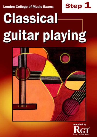 LCM Classical Guitar Playing Step 1 (2008-2018): Guitar: Instrumental Tutor