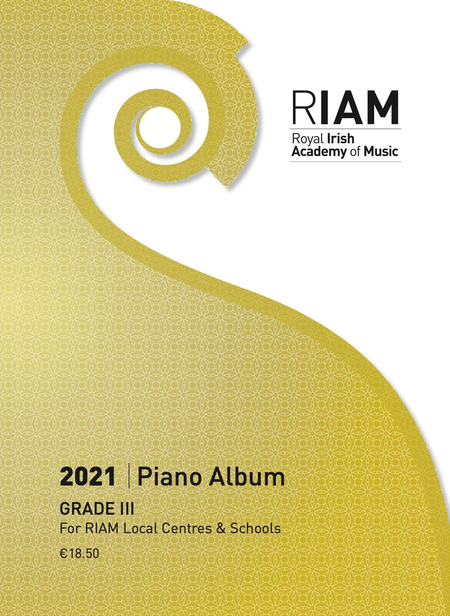 Piano Album Grade 3 2021: Piano: Instrumental Album