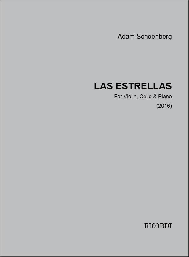 Adam Schoenberg: Las Estrellas: Piano Trio: Score & Parts