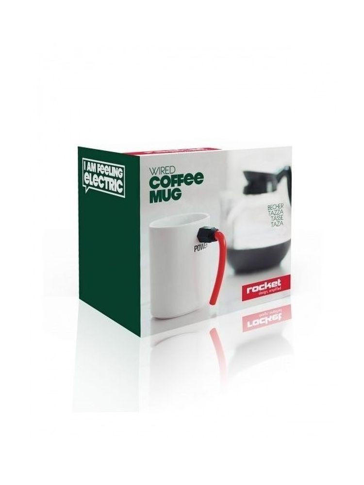 Wired - Coffee Mug (Red): Kitchenware